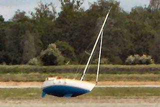 Aufgelaufen. Die Yacht auf Grund gesetzt. Und jetzt?