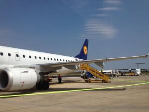 Klein aber fein: Der Flughafen von Zadar.