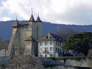 Das Schloss Vaumarcus