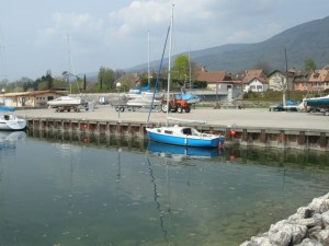 östliche Gästeplätze im Hafen von Concise