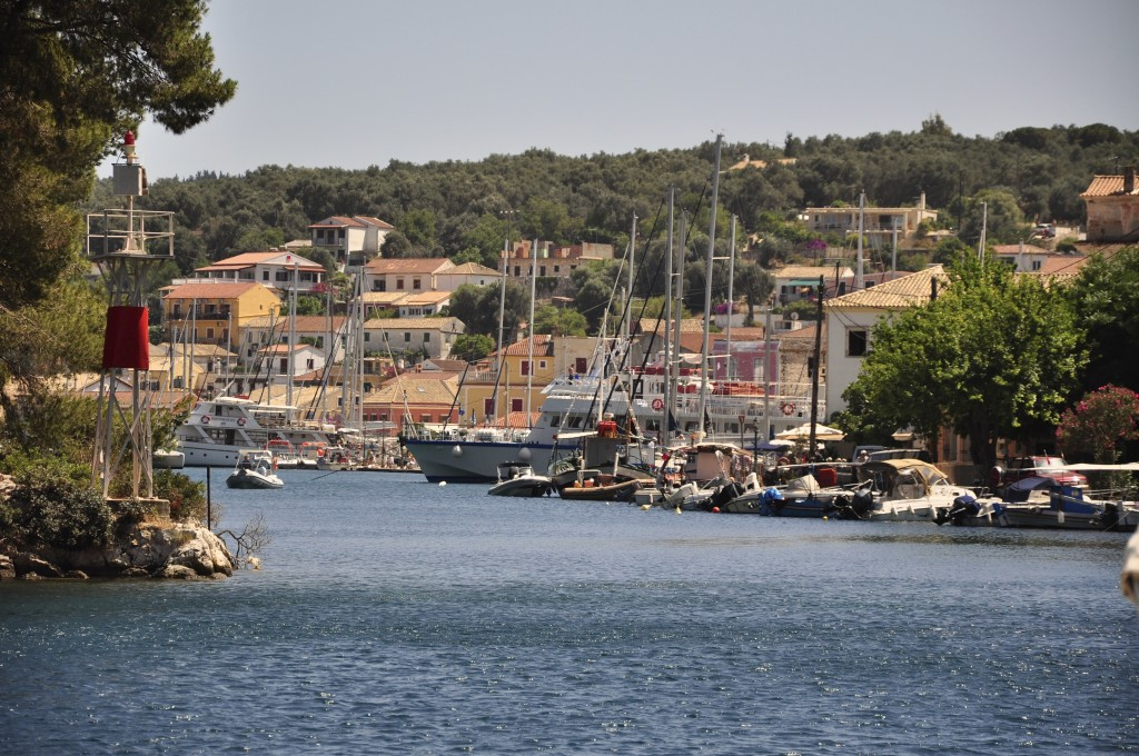 Der Hafen von Gaios auf Paxos