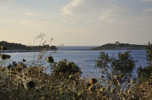 An der Ostküste von Paxos