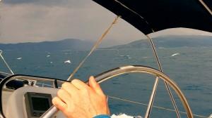 Aufkreuzen zwischen Paxos und Korfu
