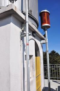 Auf dem Chaumont: Der Neuenburger Leuchtturm.