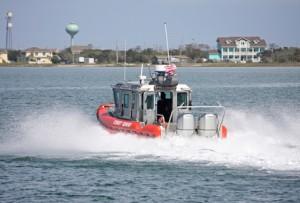 coastguard in action