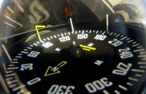 Der Kompass zeigt den Weg