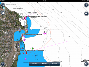 Screenshot Navionics Europa HD - Bodensee Romanshorn