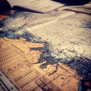 Navigation üben im Hochseeausweis-Kurs
