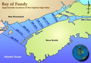 Bay of Fundy NOAA