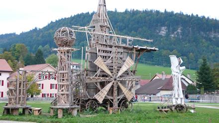 Luginbühl - Finale vor der Verbrennung