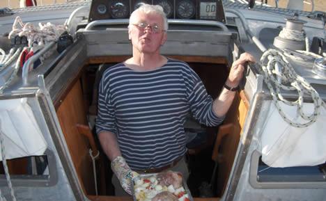 Jean Louis Bocuse an Bord