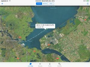 Darstellung von AIS in einer iPad App