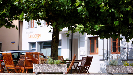 Restaurant Auberge in Baumles
