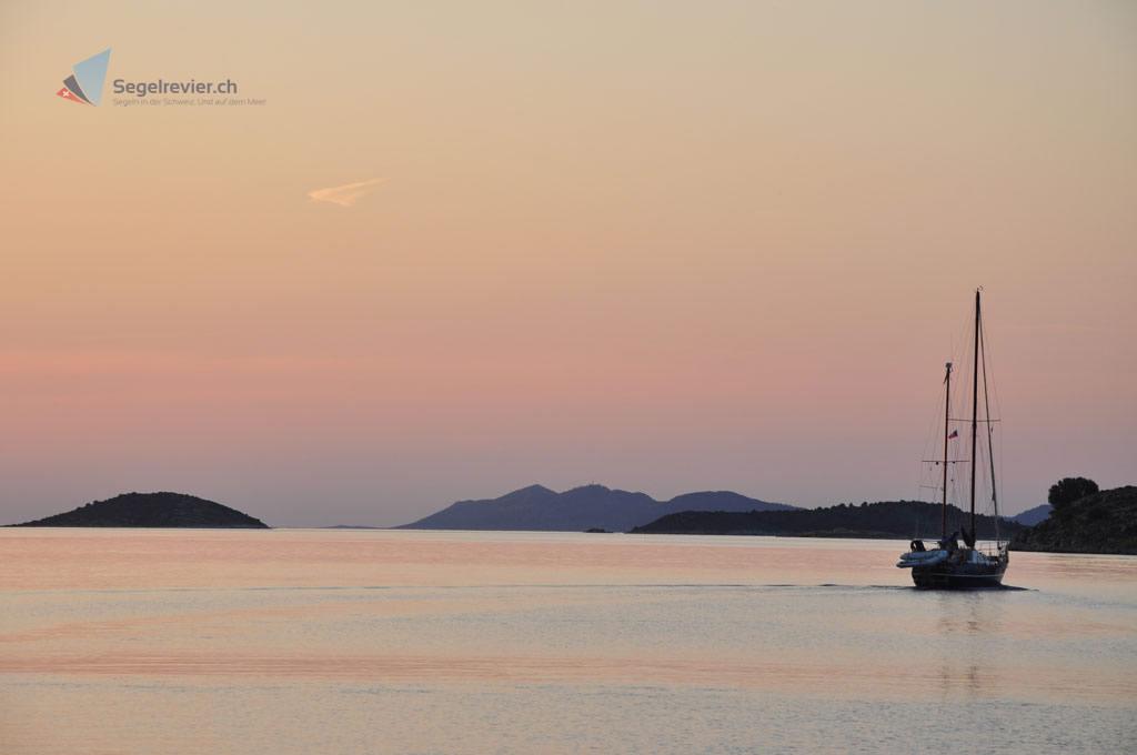 Sonnenuntergang auf Zut