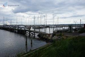 Der Hafen von Lyø kurz vor der Hochsaison