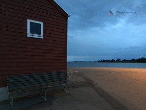Lyø Havn bei Nacht
