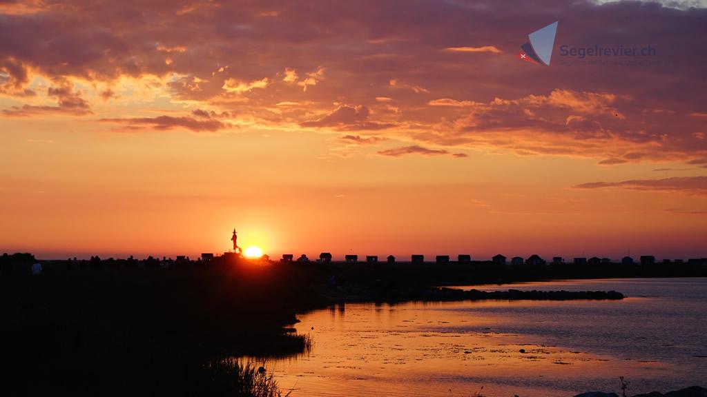 Ærøskøbing Midsommer Sonnenuntergang 2015