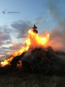 Ærøskøbing die Hexe brennt