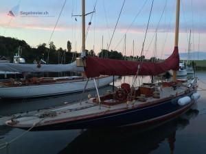 12mR Yacht in Dyvig