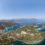 Die tollen Ankerbuchten von Meganisi im Luftbild