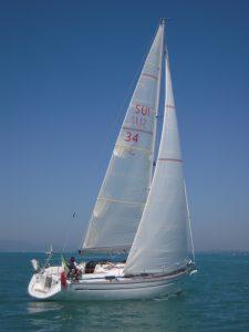 Skipperkurs auf einer Bavaria 34 ab Concise in der Schweiz