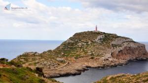 Weg zum Leuchtturm von Calera
