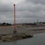 Fahrwasser-Spiere Backbord - Lateralsystem