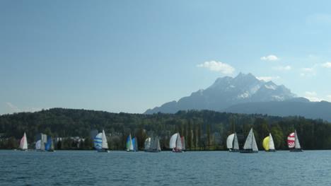 Vierwaldstättersee-segeln-pilatus